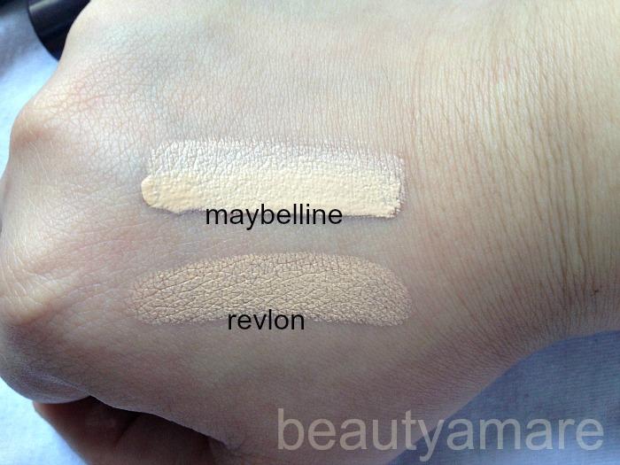 beautyamare: REVLON PHOTO READY CONCEALER vs MAYBELLINE PURE ...