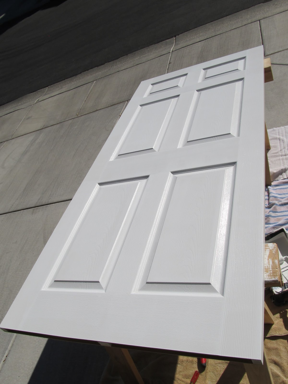 Http Diymamas Blogspot Com 2012 12 How To Paint Door And Get Professional Html