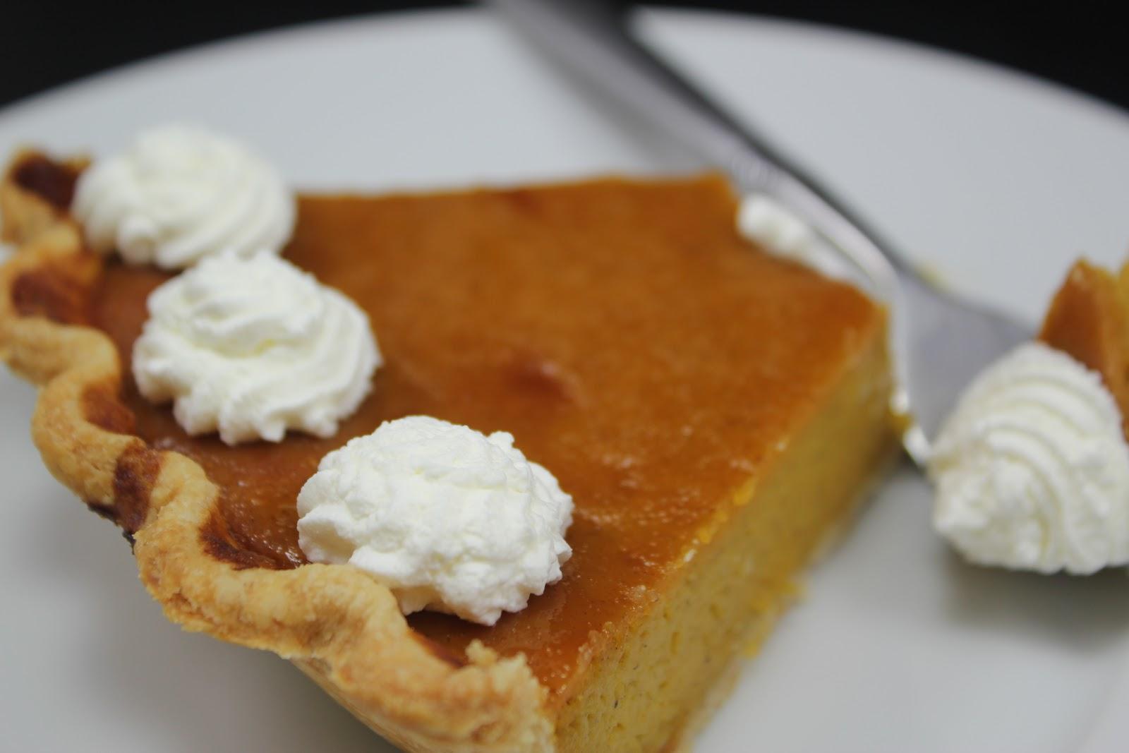 Thyme In Our Kitchen: Caramel Pumpkin Pie