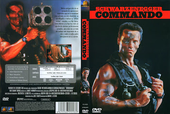 Carátula dvd: Comando (1985) (Commando)