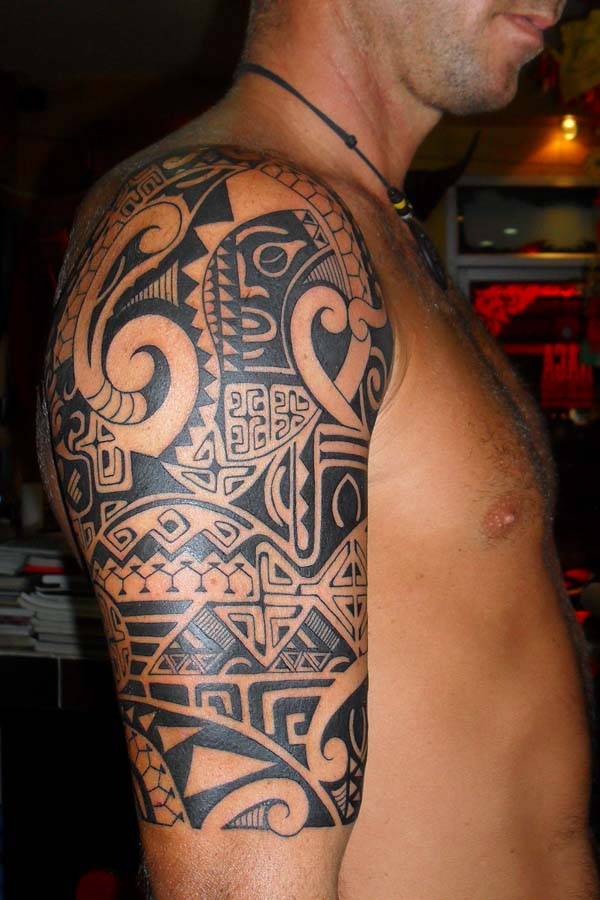 polynesian tattoo designs for