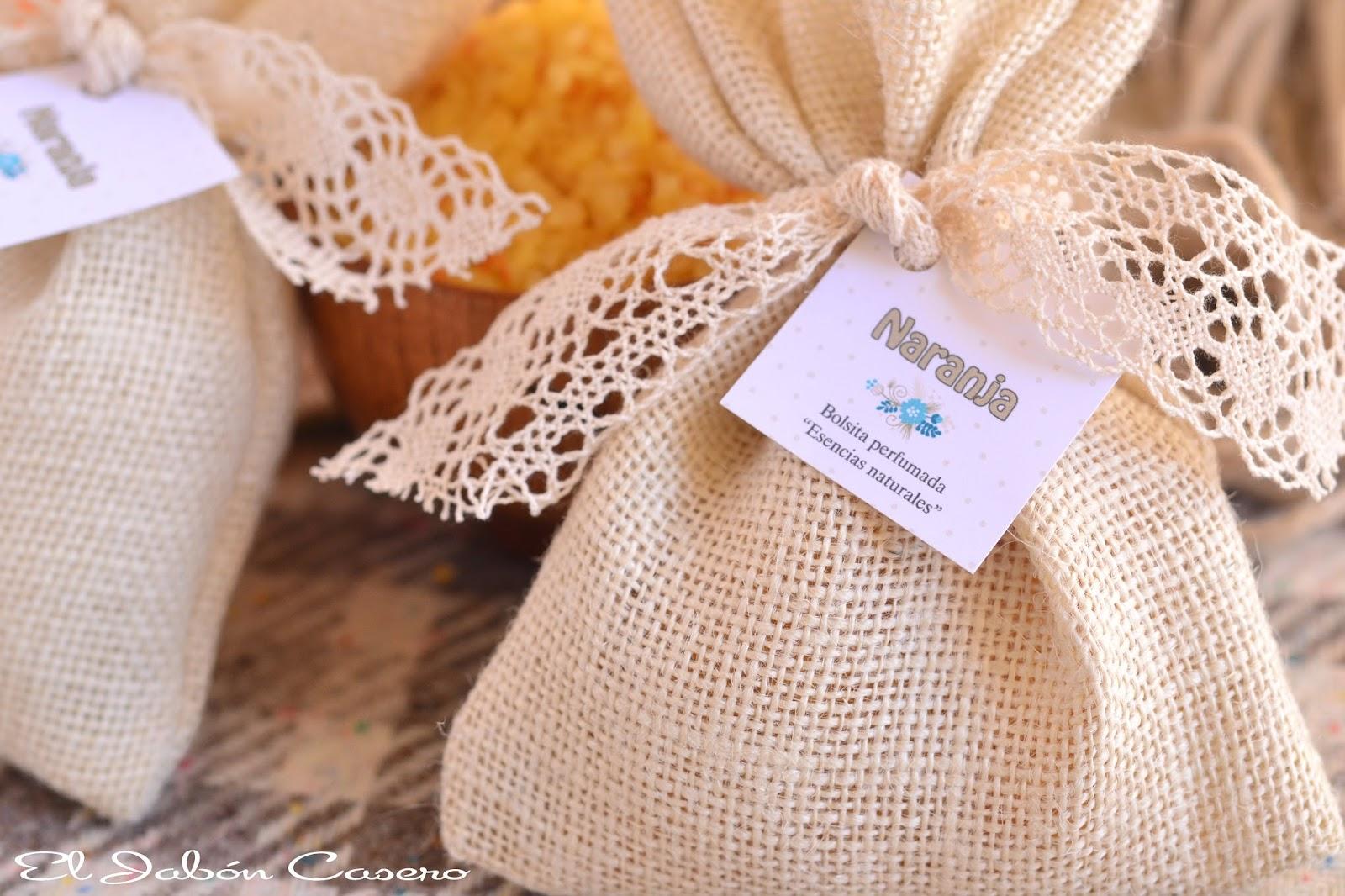bolsitas perfumadas detalles de boda regalos