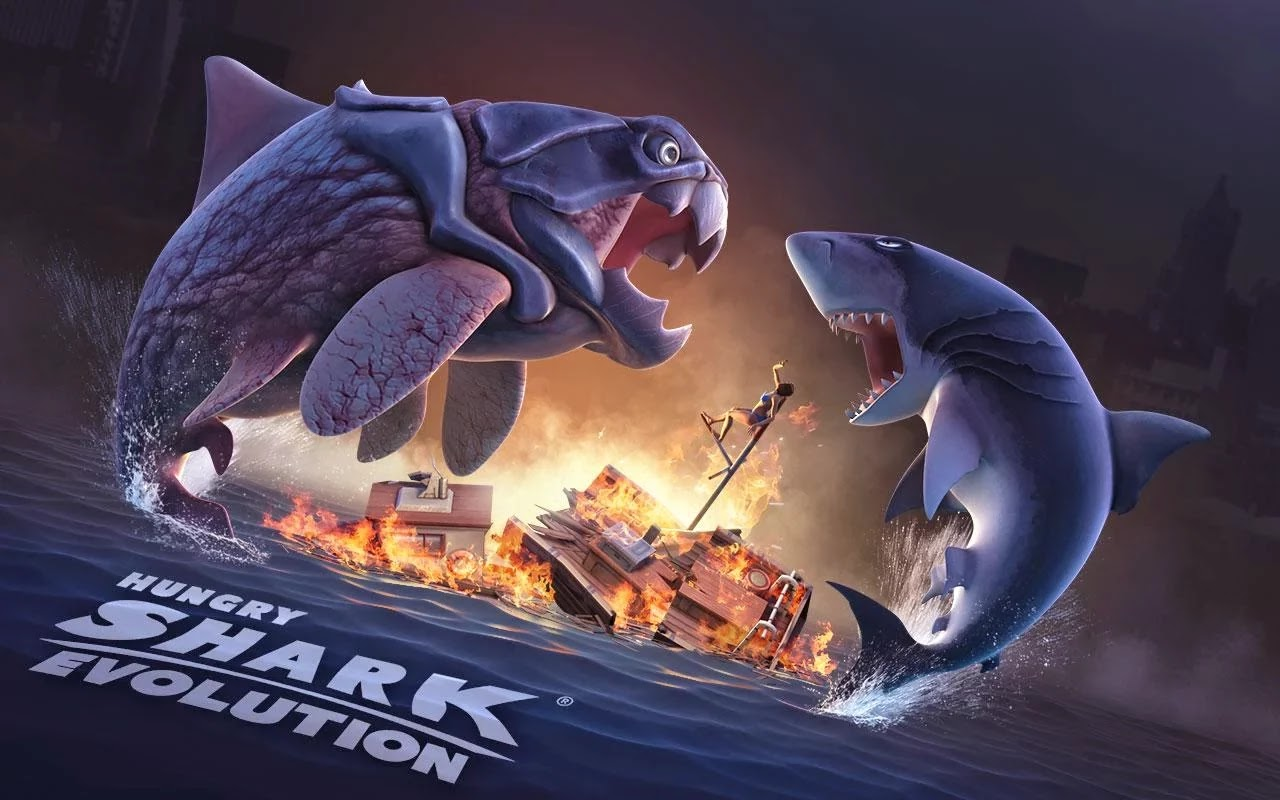 Hungry Shark Evolution v3.2.0 Mod