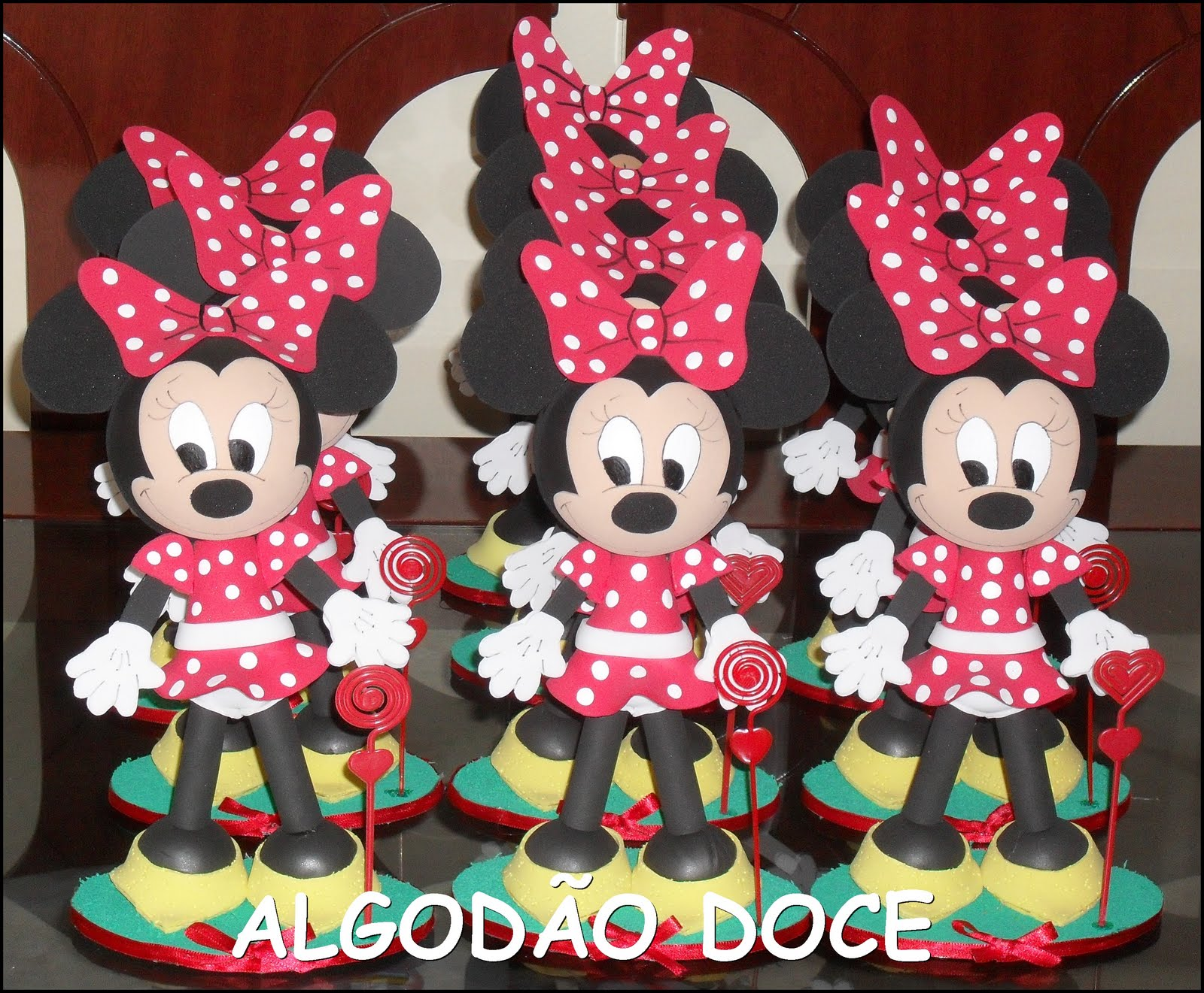 MICKEY E MINNIE 3D