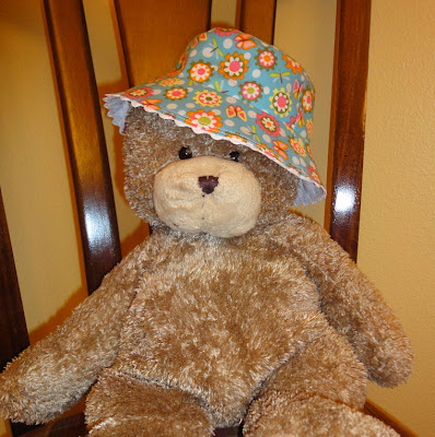 hat on bear