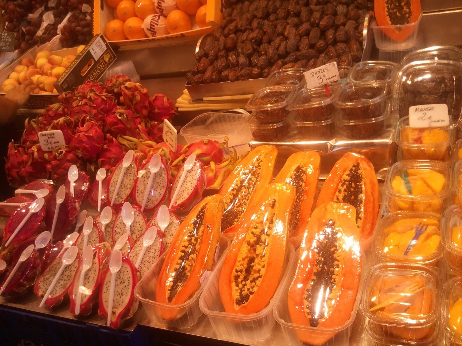 испанские фрукты