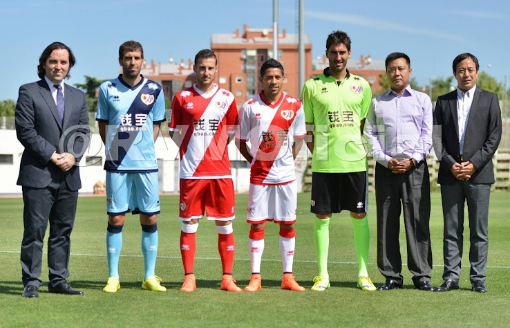 New Rayo Vallecano 14-15 Kits Released
