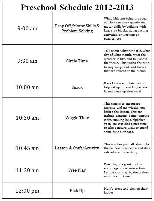 half day preschool schedule magic how we set up our preschool 732