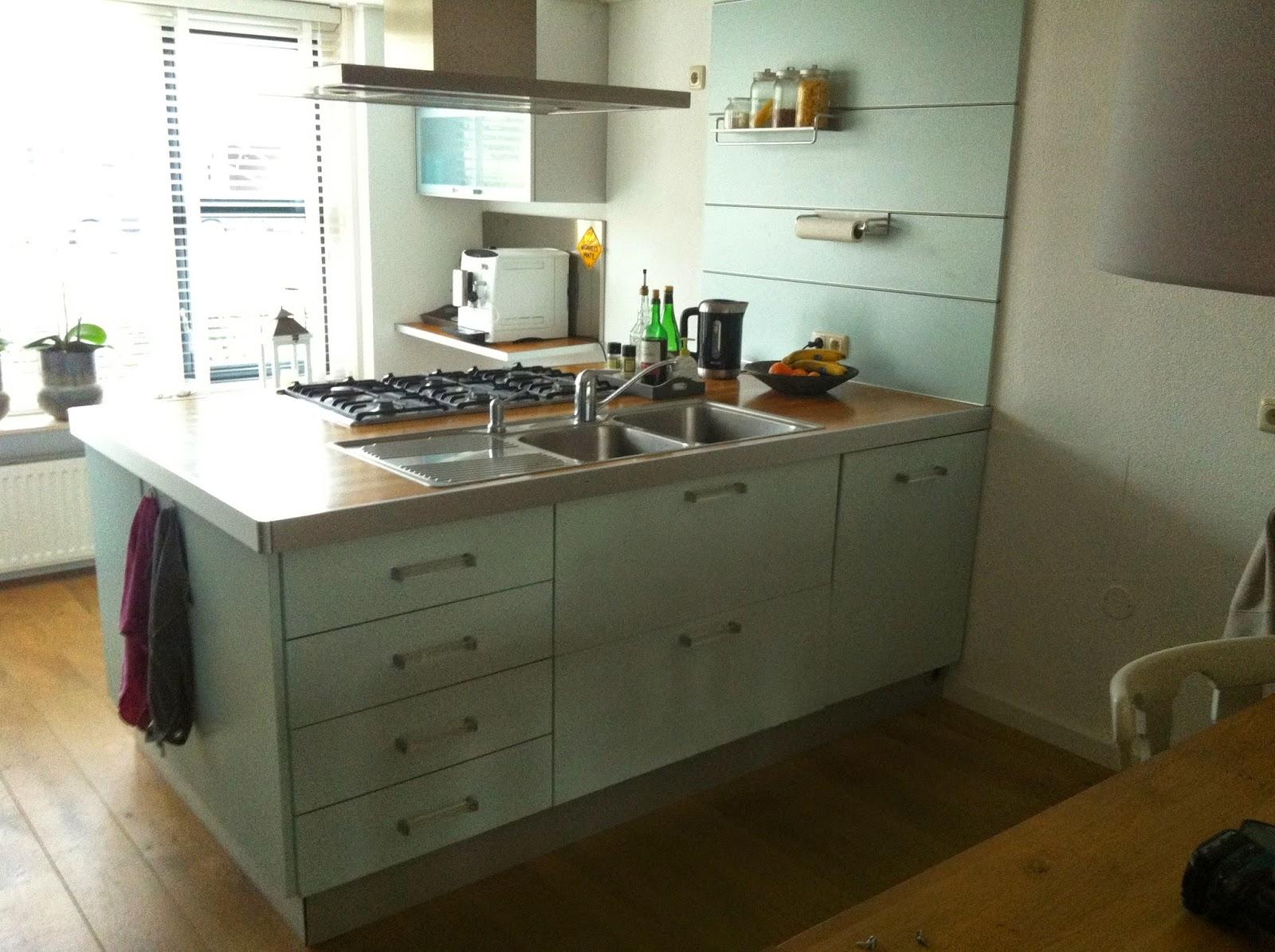 Restylelin diy keuken in de verf - Verf keuken lichtgrijs ...