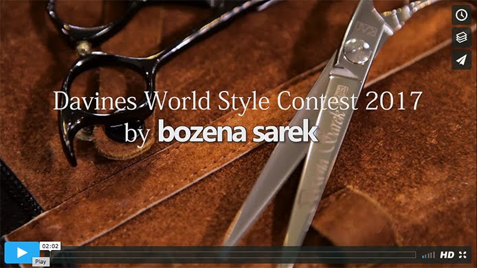 Davines WorldStyleContest 2017 by bozena sarek