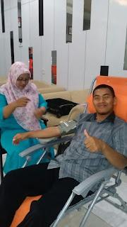 Bakti Sosial Donor Darah OMC Pamekasan, Donor itu sehat, Kurangi resiko strok dengan berdonor darah