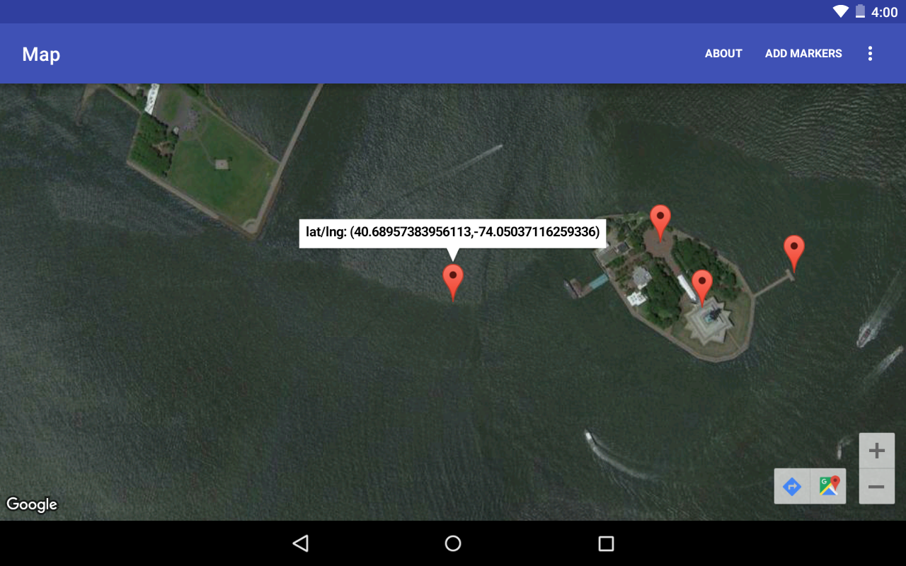 Detect touch on googlemap onmapclick and onmaplongclick to detect touch on googlemap modify mapsactivityjava from last example google maps android api v2 initialize map in xml gumiabroncs Images