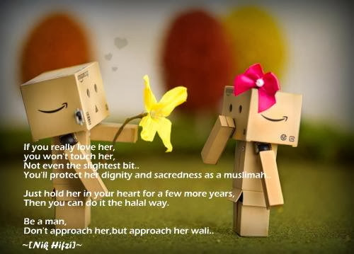 love,girlfriend,muslimah,isteri,zaujah,