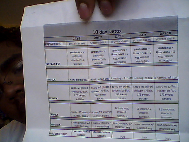 advocare 10 day cleanse instructions