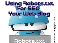 Cara Memasang Robots.txt di Blog