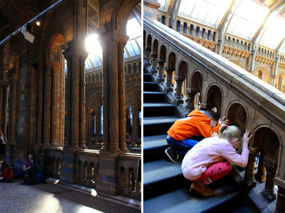 kids in museum, london, natural history museum, todaymyway.com