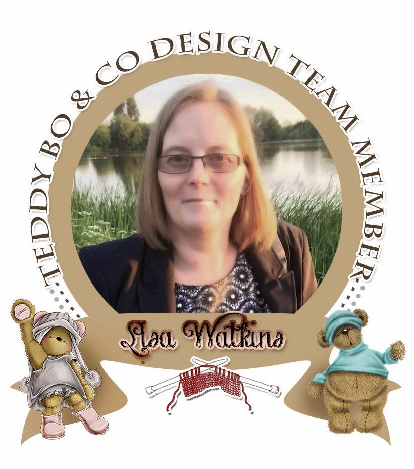 I'm in the Teddy Bo Design Team!