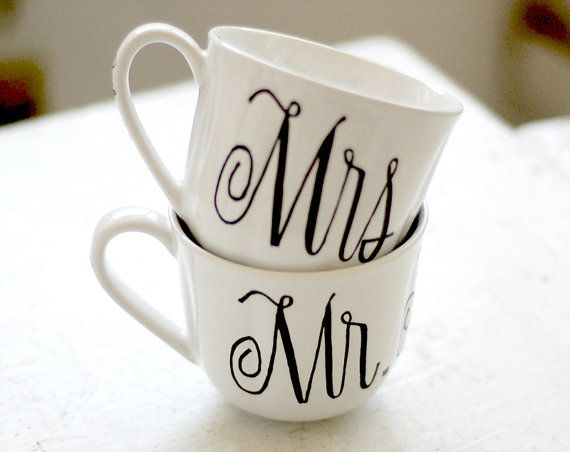 Taza Mr y Mrs