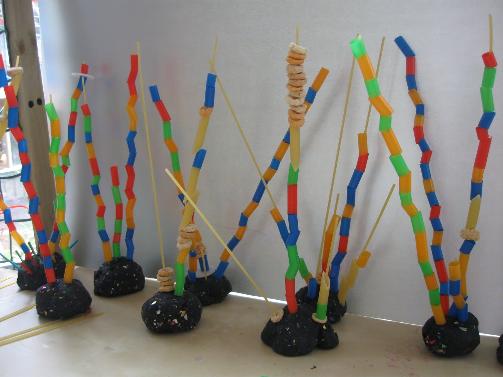 3d art projects for preschoolers spaghetti towers 576