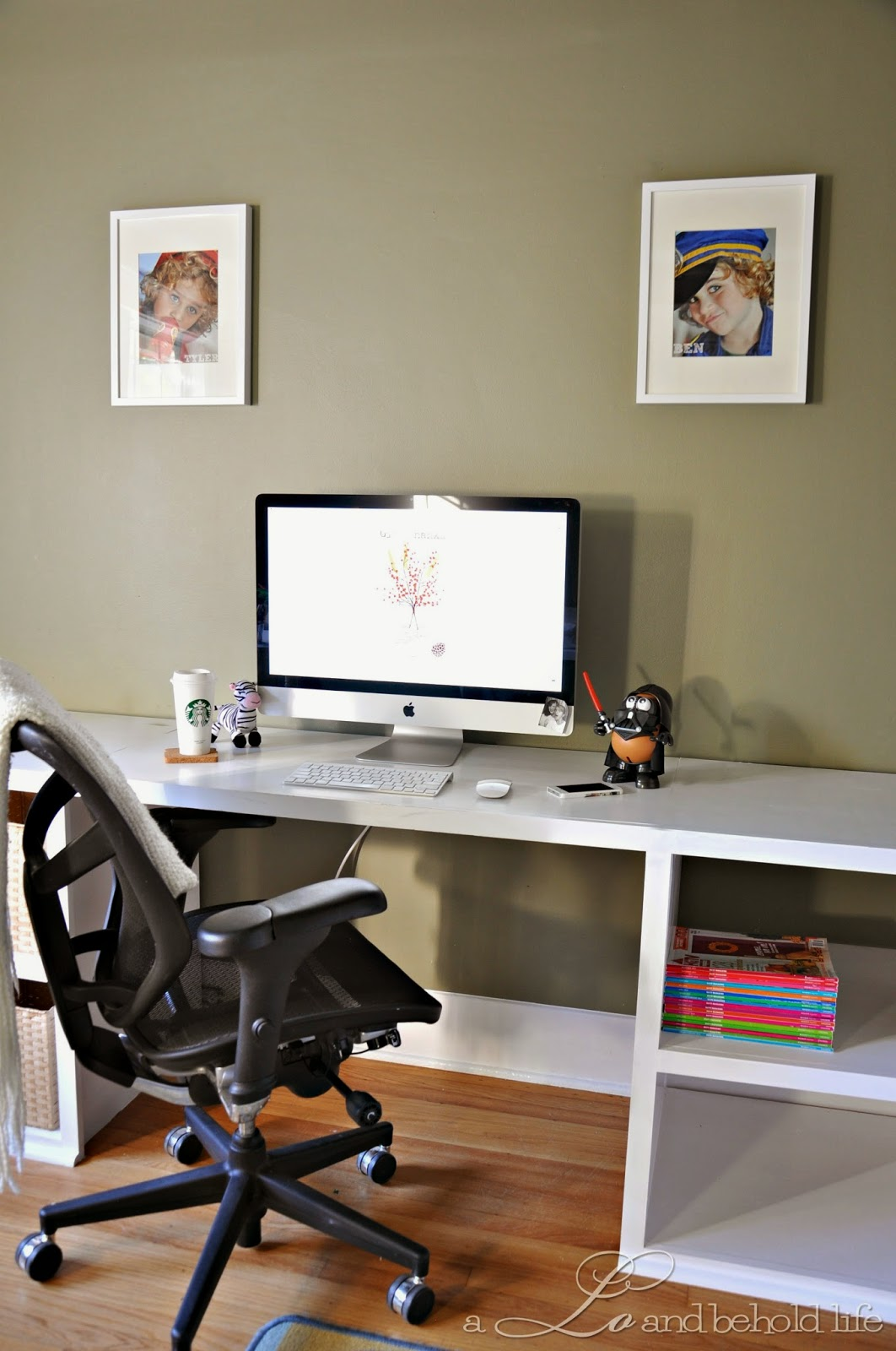 finished office makeover. Hope You Enjoyed The Tour! Be On Lookout For Some More Updates That I Wasn\u0027t Able To Complete Within 6 Week Challenge. Finished Office Makeover C