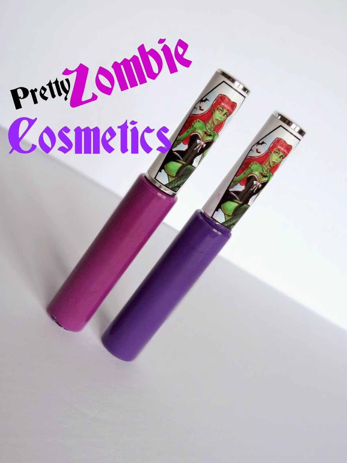 Pretty Zombie Cosmetics 3 witches and purple poison