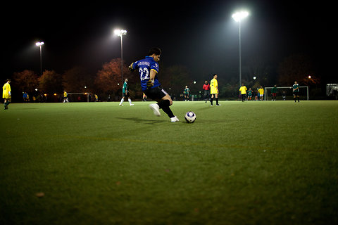 Image of UN Soccer League at Octagon Field From Eric Michael Johnson of NY ...