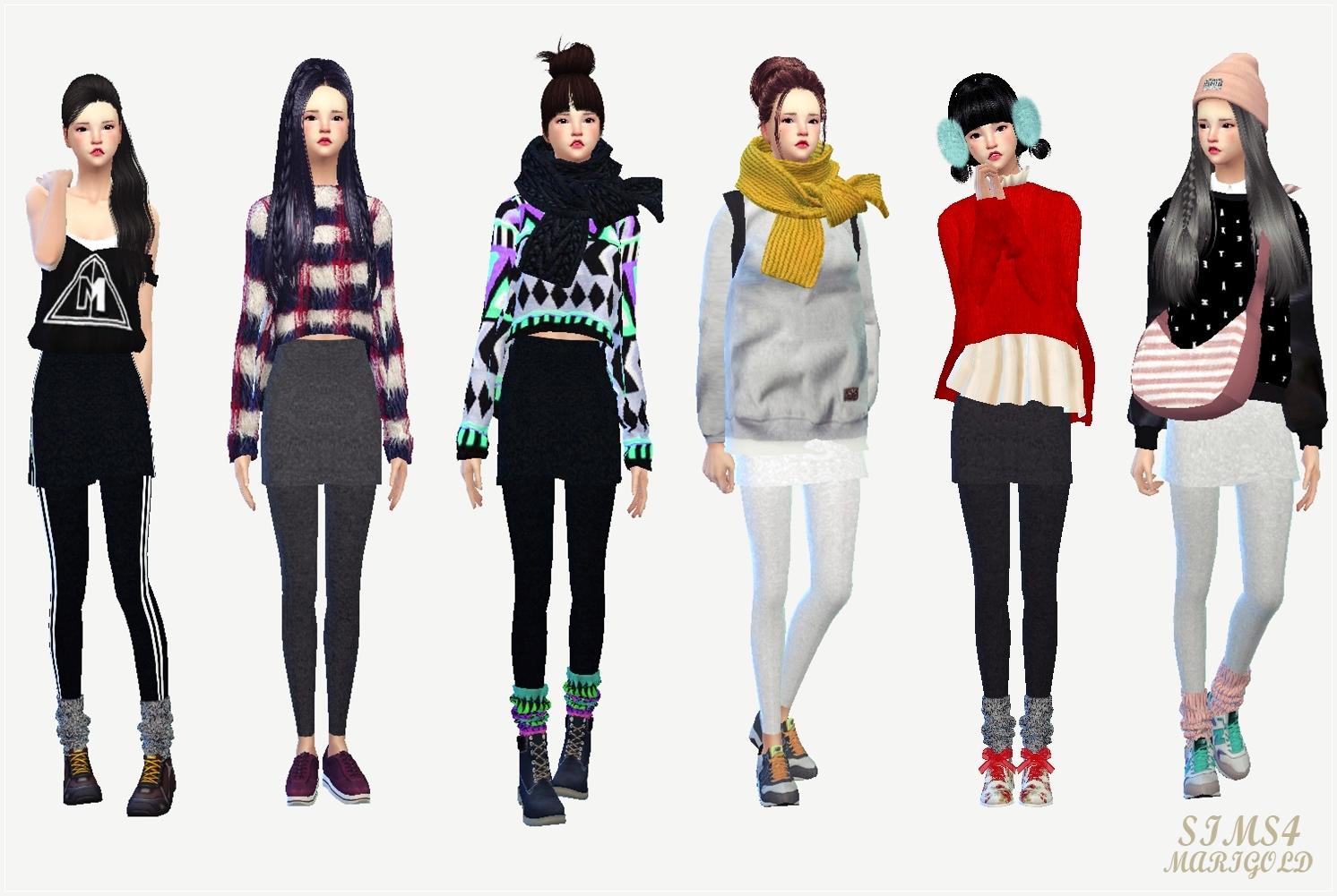Мода Одежды С Лосинам