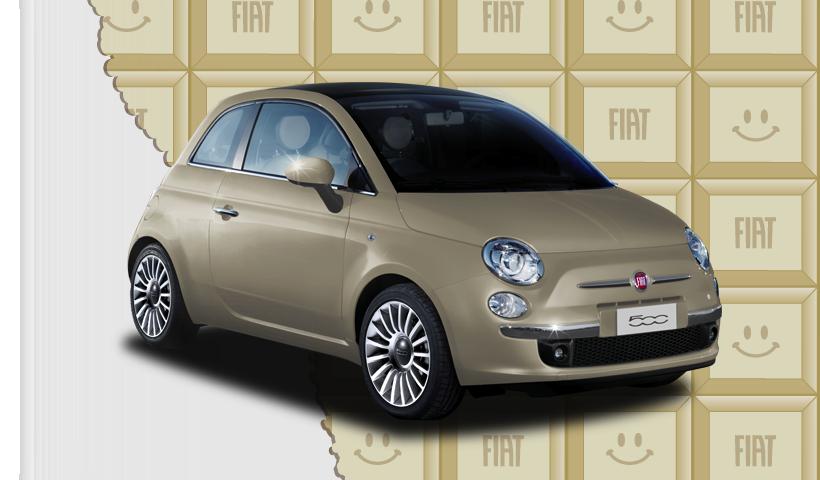 FIATからスイーツをイメージしたバレンタイン仕様の限定車が登場