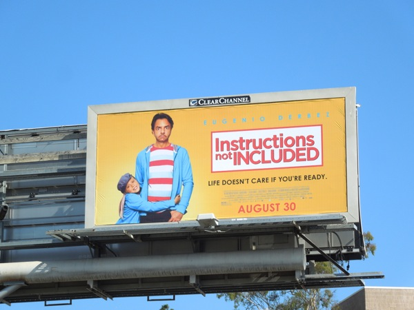 Instructions not included billboard
