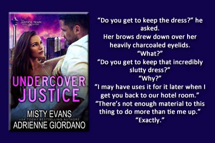 UNDERCOVER JUSTICE  by Adrienne Giordano, Misty Evans