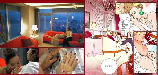 Jang Geun Suk as Ma Te and So Yu Jin as Jaek Hee heat up the opening scene of Pretty Man.