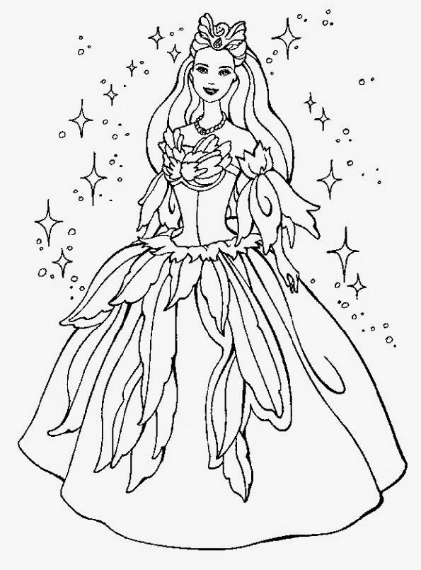 malvorlagen barbie prinzessin - Malvorlagen Barbie Prinzessin - AZ Ausmalbilder