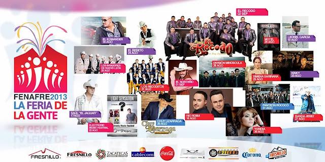 Feria de Fresnillo 2013 programa completo