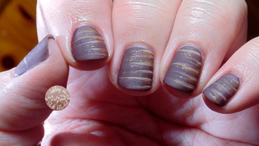 Ashley is PolishAddicted: 13 Days Of January Nail Art Challenge, Day ...
