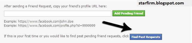 how to see pending friend requests