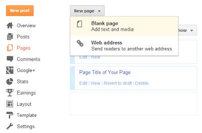 Cara Membuat Formulir Kontak Blogger pada Halaman STATIS Blog