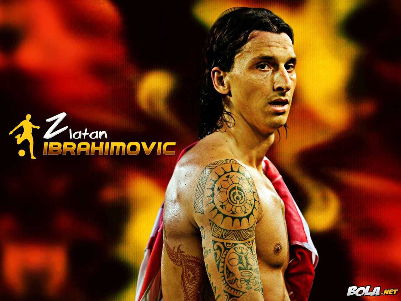 zlatan ibrahimovic profile wallpaper 2012 wallpapers. Black Bedroom Furniture Sets. Home Design Ideas