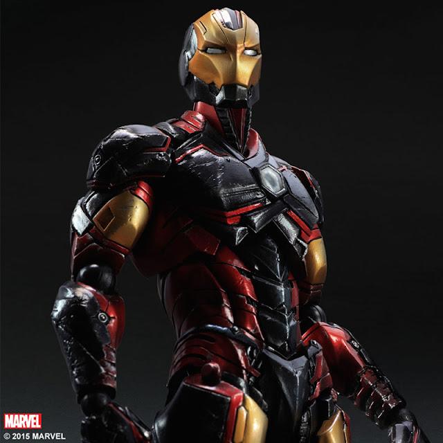 marvel iron man variant action figure