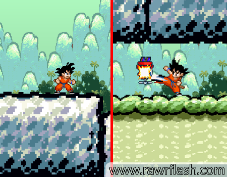 Goku no mundo do Mario, DRAGON BALL RPG, tartarugas, kamehameha e muito mais.