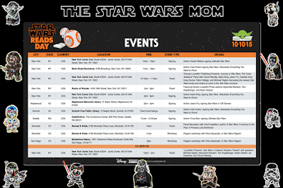 Star Wars Reads Day 2015 Events