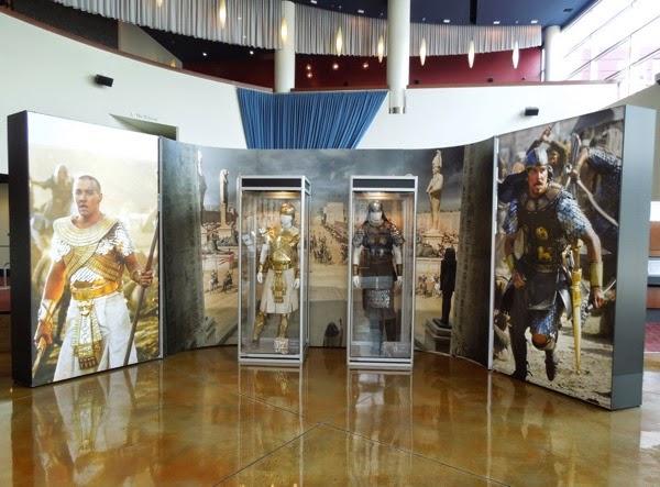 Exodus Gods and Kings movie costume exhibit