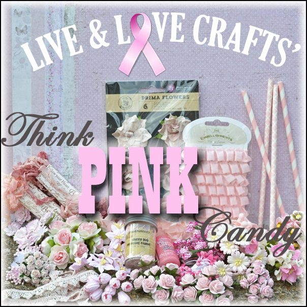 Live & Love Crafts Pink Ribbon Candy