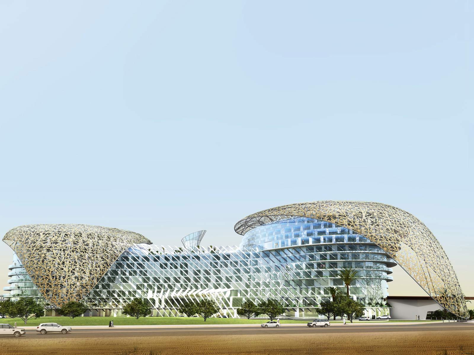 Architectural designs aedas hd interior for Architectural design company in qatar