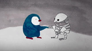 Orpheus the Penguin still - Jen Haugan Animation & Illustration
