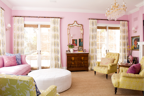 Creative Influences: Pretty Pink Rooms