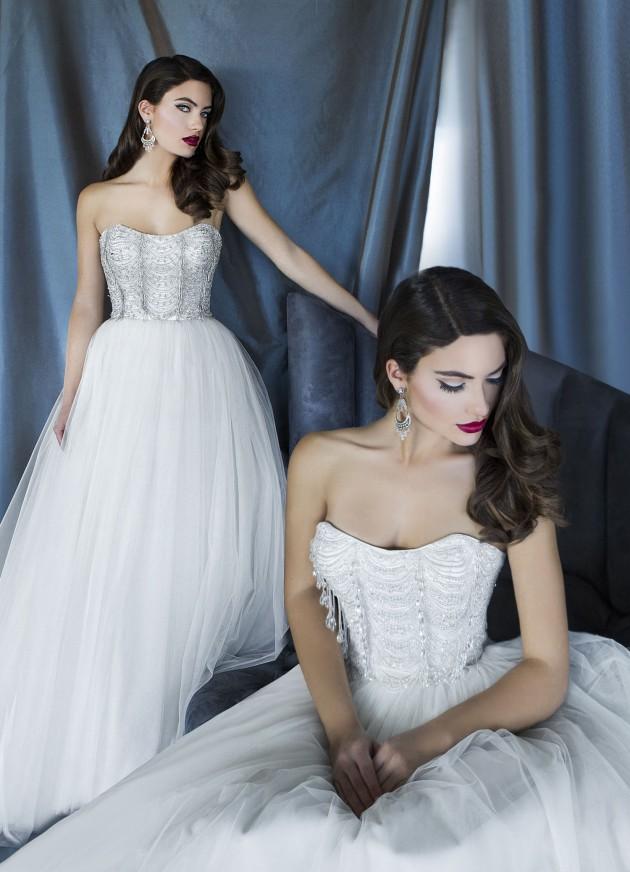 Bellos vestidos de novias 2016 | Coleccion Yumi Katsura