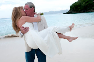 weddings on Trunk Bay