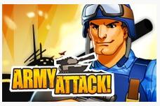 Army attack game on Google+ to play