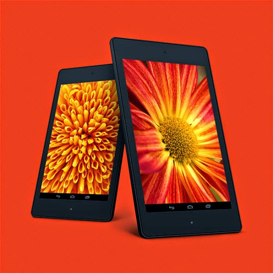 Nexus 7 PSD Mockup Templates