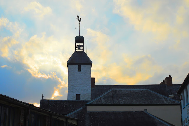 Laugharne town hall weathervane